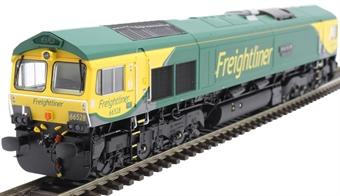 "H4-66-021 Class 66 66528 in Freightliner Powerhaul livery ""Madge Elliot MBE - Borders Railway Opening 2015"""
