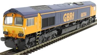 H4-66-022 Class 66 66704 in GBRf original livery