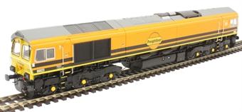H4-66-036 Class 66 66623 in Freightliner/G&W orange livery
