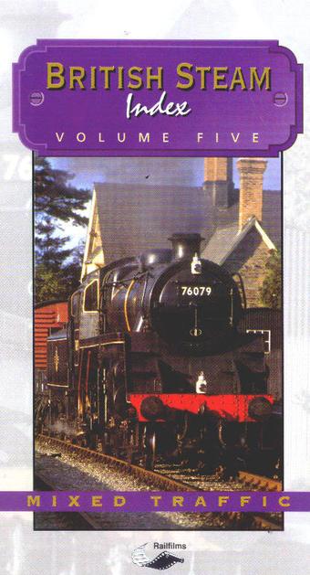 H581 British Steam Index Volume 5 DVD