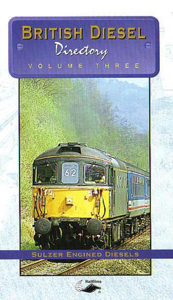 H588 British Diesel Directory Volume 3 DVD