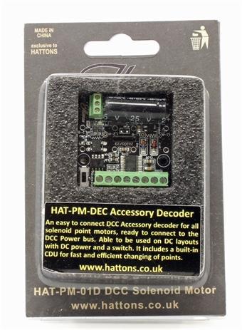 HAT-PM-DEC Digital Solenoid Point Motor Decoder