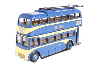 """JB28 Weymann trolleybus - """"Hull Corporation"""""""