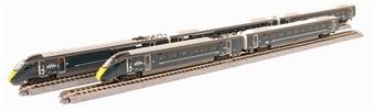K10-1671 Class 800/0 5-car BiMU IET 800021 in GWR green