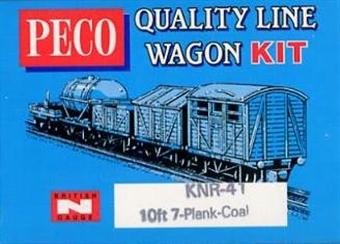 KNR-41 7 plank open wagon - plastic kit