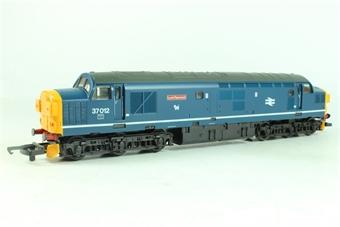 L205172 Class 37 37012 'Loch Rannoch' in BR blue