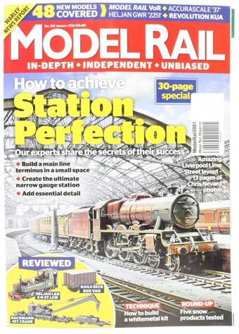 ModelRail2001 Model Rail magazine - January 2020