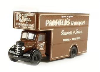 """NBP003 Bedford Luton Van """"Padfields Transport"""""""