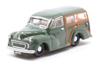 NMMT008 Morris Traveller Almond Green (Dot Cotton)