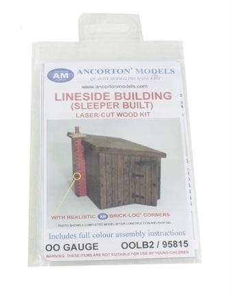 OOLB2 Lineside building (sleeper built) kit