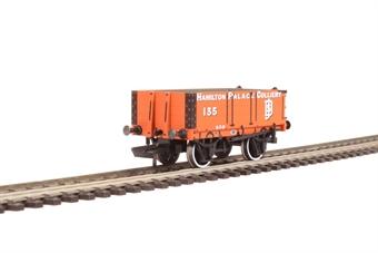 "OR76MW4004 4 plank wagon - ""Hamilton Palace Colliery"""