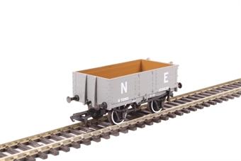 OR76MW4007 4-plank open wagon in LNER grey