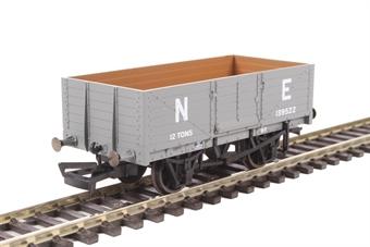 OR76MW6001B 6-plank open wagon in LNER grey