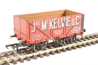 "OR76MW7026 7-plank open wagon ""Jas McKelvie, London"""