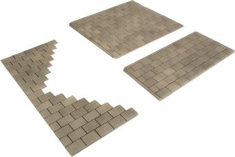 PO210 Pack of Self-adhesive paving slabs