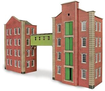 PO282 Brick-built warehouse - card kit