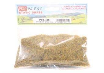 PSG-406 Dead grass, static grass 4mm - 20g bag