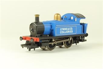 R2263 Lynne & Co Collieries Blue 0-4-0T No.101