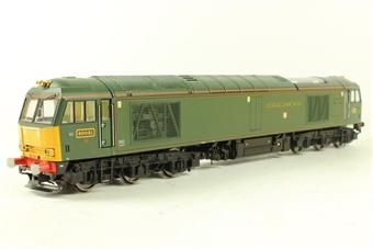R2604 Class 60 60081 'Isambard Kingdom Brunel' in GWR Green - Rail Express Ltd Edn