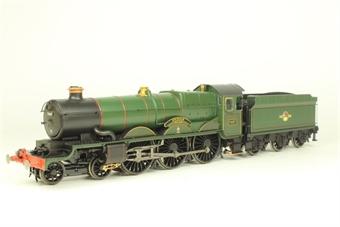 R2852 Castle Class 4-6-0 7037 'Swindon' in BR Green - Swindon Steam Museum special edition