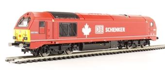 "R3039 Class 67 67018 ""Keith Heller"" in DB Schenker Livery"