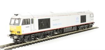 R3141 Class 60 60099 in DB Schenker/Tata Steel Grey