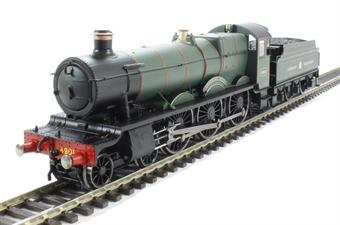 R3170 Class 49xx 4-6-0 4901 'Adderley Hall' in GWR Green - Railroad range