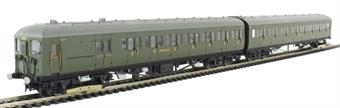 R3260 Class 2-HAL 2 car EMU 2653 in Southern Railway green