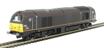 R3272 Class 67 67006 'Royal Sovereign' in EWS Royal claret