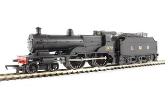 R3276 Class 4P Compound 4-4-0 1072 in LMS black - Railroad range