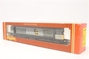R332B-PO08 Class 58 58044 in Railfreight Triple Grey - Pre-owned - Good box