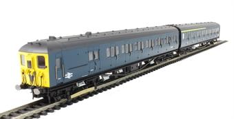 R3341 Class 2-HAL 2 Car EMU 2677 in BR blue