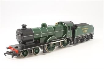 R350S-PO15 Class L1 4-4-0 1757 in BR Green - Pre-owned - Fair box