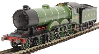 R3544 Class B12/3 4-6-0 8527 in LNER apple green