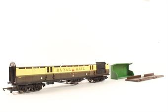 "R4108 GWR operating mailcoach set ""848"""