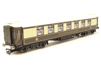 "R4144-PO48 Wood sided Pullman 3rd class parlour car ""Car No 35"" - Pre-owned - Good box"