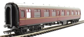 R4350 Mk1 CK corridor composite M15625 in BR maroon - Railroad Range