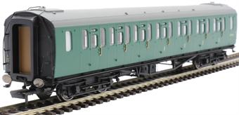 R4886 Bulleid 59' composite corridor S5714S in BR green