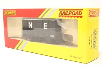 R6422-PO42 12 ton van 2606 in LNER grey - Railroad Range - Pre-owned - Very good box