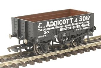 """R6945 4-plank open wagon """"C.Addicott & Son, Weston-Super-Mare"""""""