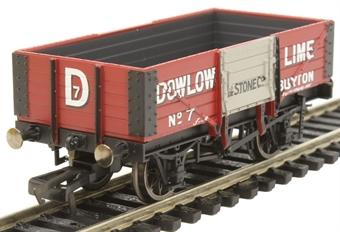R6947 5-plank open wagon Dowlow Lime & Stone Co. No.7