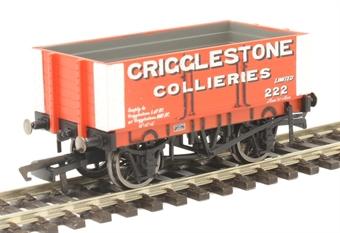 R6949 6-plank open wagon Crigglestone Collieries No. 222