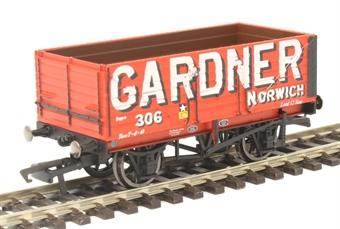 R6951 7-plank open wagon Gardner No. 306