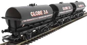 R6959 Triple pack of 20 ton tank wagons Corn Products Co. Ltd