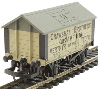 R6976 8 ton lime wagon Crawshay Brothers No. 136