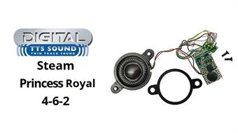R7147 TTS digital sound decoder - LMS 'Princess Royal' steam locomotive