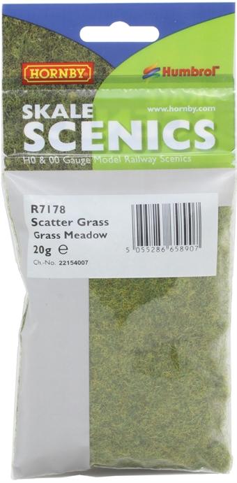 R7178 Static Grass - Grass Meadow, 2.5mm