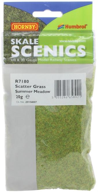 R7180 Static Grass - Mixed Summer, 2.5mm