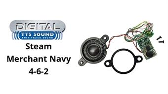 R8115 TTS DCC Sound Decoder with 8 pin plug - 'Merchant Navy' 4-6-2 steam locomotive