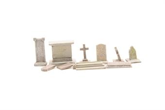 R8574-PO09 Gravestones - Skaledale Range - Pre-owned - Replacement packaging